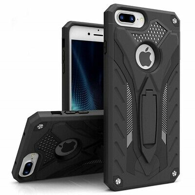 For iPhone 6s Plus Case - Heavy Duty Shockproof Rugged Bumper Hybrid Armor Stand