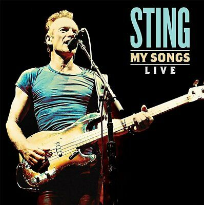 Sting My Songs Live Limited Edition 2LP Vinyl 2019 Interscope Records
