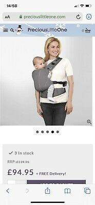 Cybex Baby Carrier Sling Maria Click 0- Toddler Excellent Condition