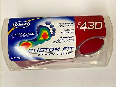 Dr. Scholls CF 430 Custom Fit Orthotic Inserts - Red
