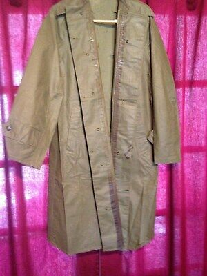 Raincoat WW2 U.S. Army Field/Marching Unissued -unmolested,nice, size small
