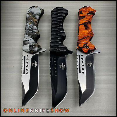 VIPER SPRING TACTICAL MILITARY TANTO KNIFE Assisted Opening Folding Pocket Blade