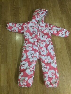 Next Girls Pink Snowsuit - Age 3-4 Years - Great Condition, Very Cosy