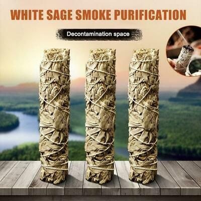 White Sage Bundle Smudges Stick Pure Leaf Wands for Home Cleansing Negativity Re