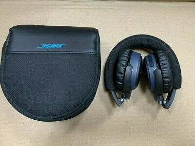 Bose SoundLink Around-Ear AE Headband Wireless Headphones -Black/Blue