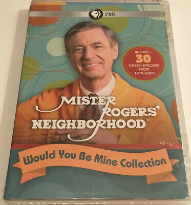Mr. Rogers Neighborhood Would You Be Mine 4-Disc DVD Set (2019) Sealed BRAND NEW