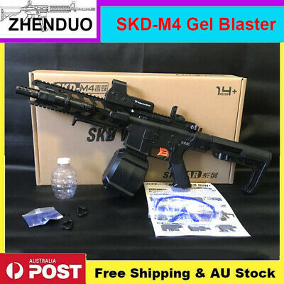 Electric SKD-M4 5S Gel Blaster Gun Toy Water Ammo Mag-fed Australia Stock