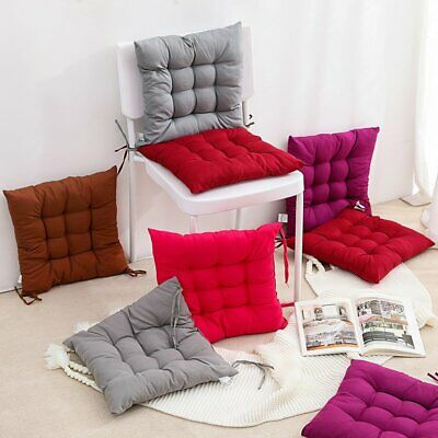 Soft Sofa Chair Corduroy Cushions Square Seat UK Thick Large Dining Garden Floor