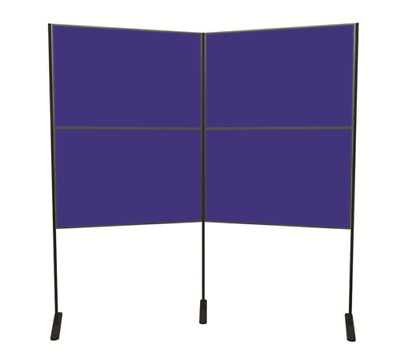 4 Panel and Pole Exhibition Display Board Kit