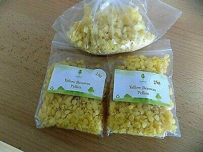 Yellow Beeswax Pellets - Naturally Fragrant Beeswax - Cosmetic Grade Beeswax