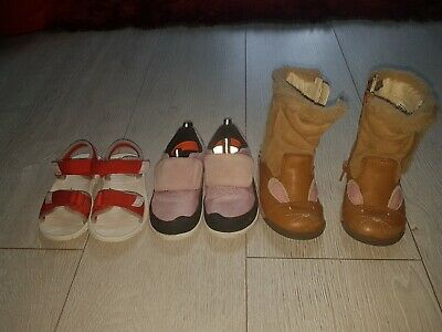 Clarks Girls Shoes And Boots Bundle Size 6 Infant
