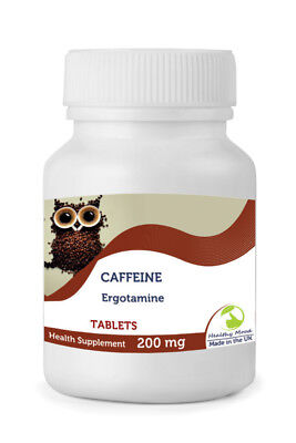 Caffeine 200mg 30/60/90/120/180/250 Tablets Pills