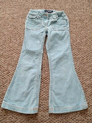 Mini Boden Girls Cord Style Flare Trousers Age 6 Years