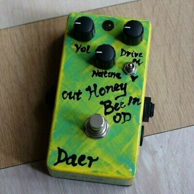Handwired supro AMP styleSweet bee honey in Overdrive Preamp Guitar Pedal Effect