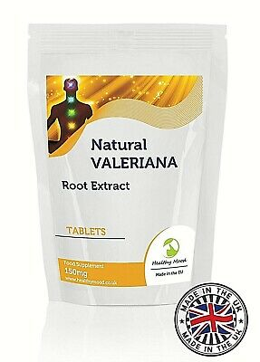 Valeriana 150 mg Root Extract 30 Tablets Healthy Mood