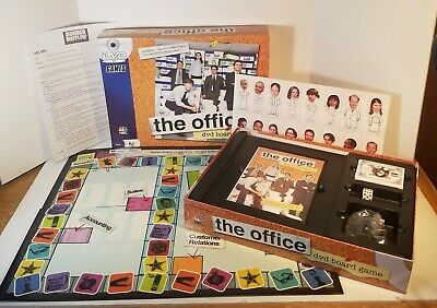 The Office DVD Board Game 2008 Dwight Schrute Michael Scott Never Played Open