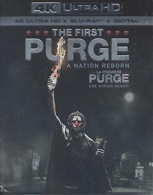 The First Purge (4K Ultra Hd/Bluray)(2 Disc Set)(Used)