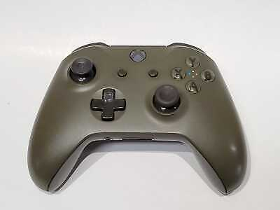 Microsoft Xbox One Wireless Controller Model 1708 Used Military Green