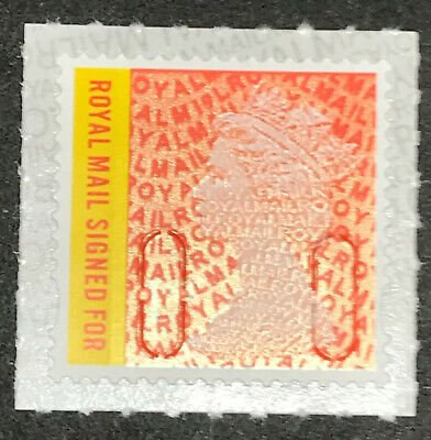 *New* Royal Mail Signed for 1st (RMSF) 2019 M19L Single Stamp