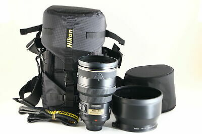 [B Very Good] Nikon AF-S NIKKOR 200mm f/2 G ED VR Lens w/Case From JAPAN 6122