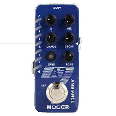 Mooer A7 Ambience Reverb Guitar Pedal New release