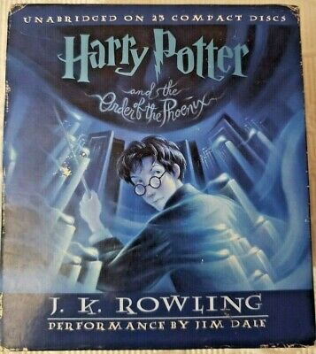 Harry Potter and the Order of the Phoenix J. K. Rowling Unabridged 23 Audio CD