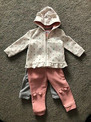 Girls Mayoral Tracksuit With 2 Pairs Of Trousers, 18 Months