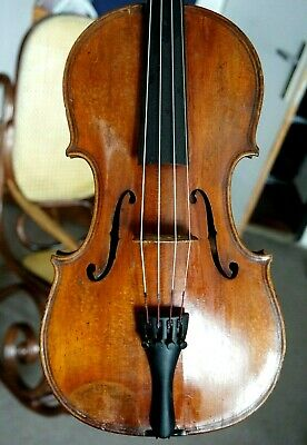 Beautiful Antique Small Viola (large violin?) lab. Jean Baptiste Vuillaume