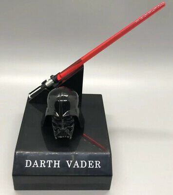 "6"" Star Wars Light Up Lightsaber + Helmet Figure Darth Vader Japan Banpresto"