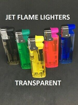 Prof Fluo Windproof, Jet Flame, Fluorescent Colours Lighters, Lighter, Refillabl