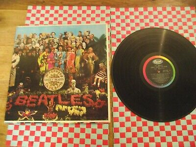 The Beatles SGT Peppers Lonley Hearts band  early us pressing  MAS 2653