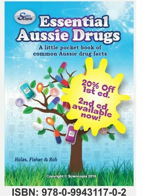 Essential Aussie Drugs: A little pocket book...  (Pocket A7) 1st edition