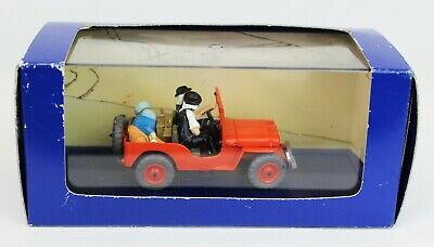 Atlas No. 7 Tintin Willy's Jeep 1/43 From Land of Black Gold Diecast Car