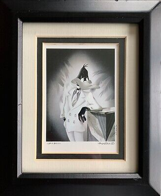 """NEW: Limited Edition """"The Portrait Series"""" Warner Bros. Timepiece Daffy Duck '97"""