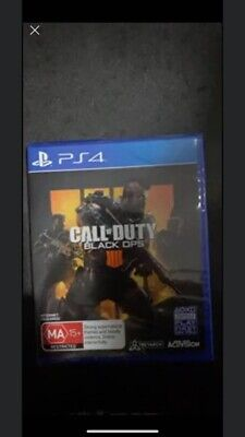 Call of Duty Black Ops 4 PS4 Playstation 4 Like New