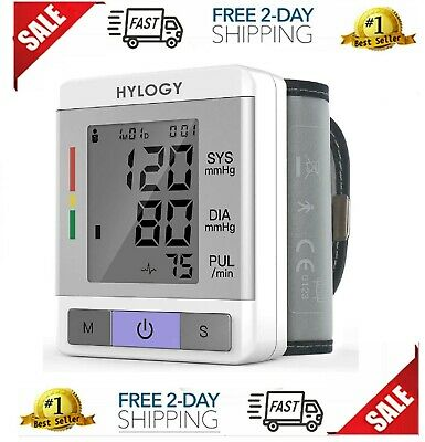 Best Portable Blood Pressure Monitor Digital  With Upper Arm Cuff AC Adapter