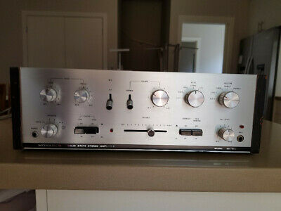 Vintage 70s Monarch Solid State Stereo Amplifier SA800