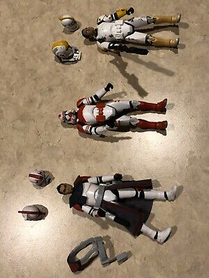Hasbro Star Wars Clone Trooper Action Figure Lot