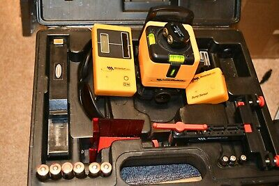 Momentum Laser rotary level chalk line kit with case and accessories