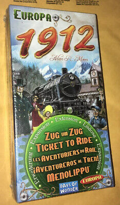 ✳️ Europa 1912 Expansion Ticket To Ride Europe Board Game Days Of Wonder Extent