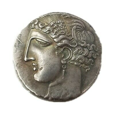 Ancient Coin The Great Greek Coin Rare Silver Plated Greek Collecting coin