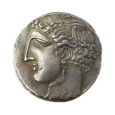 Ancient Alexander The Great Greek Coin Rare Coin Collection Silver Plated Gift