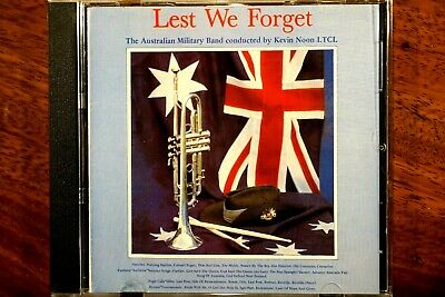 The Australian Military Band - Lest We Forget  - CD, VG