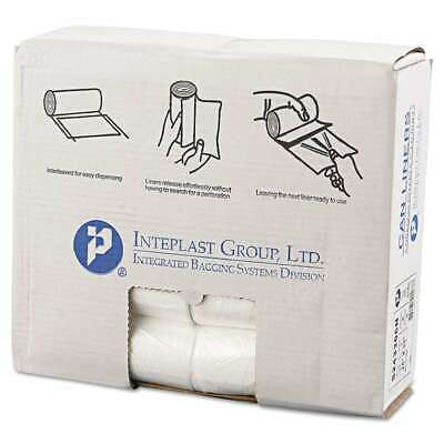 Inteplast Group High-Density Can Liner, 24 x 33, 16gal, 6mic, Cle 072288113901