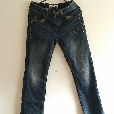 Boys dark Blue Jeans trousers by YASO Age 10 USED