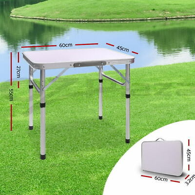 2FT Folding Portable Camping Picnic Kitchen Small Dining Table Bed Tray Foldable