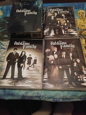 The Addams Family Complete original Series (DVD 9-Disc Set) 1964-66 Gomez