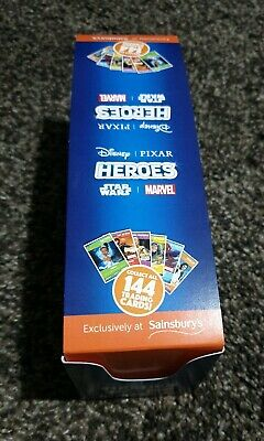 Sainsbury's Disney Heroes Cards(Full Box/720)