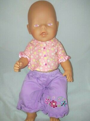 Zapf Creations Original Baby Born Doll Pink Eyes 43cm Exc Cond