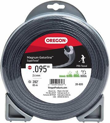 NEW OREGON 37601 USA MADE 3LB .095 LARGE SPOOL TRIMMER WEED EATER LINE 6961841